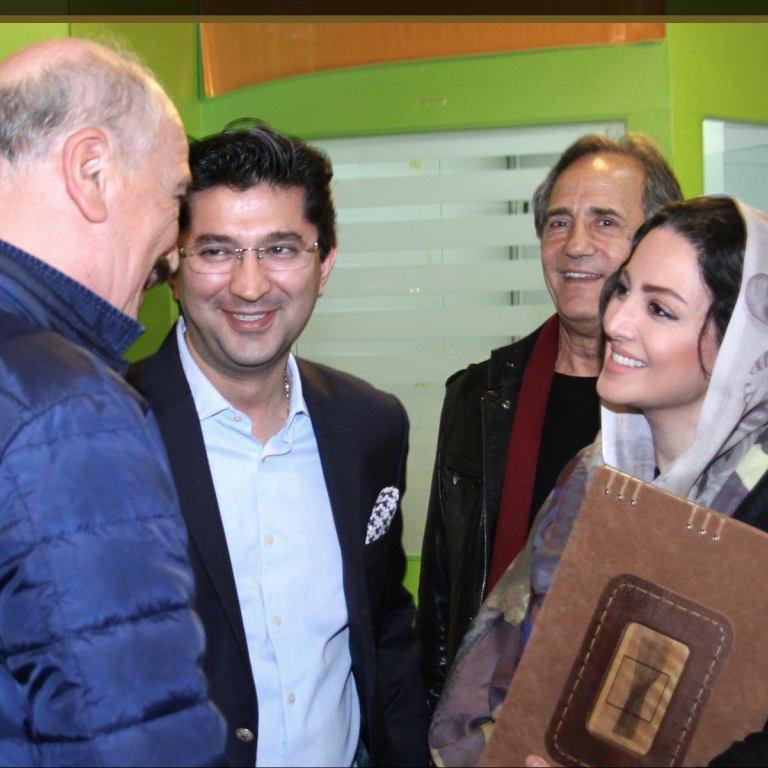 Memorial notebook for International Fajr Film Festival- Shila Khodadad (Iranian actress)