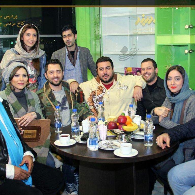 Memorial notebook Mellat Gallery and Cinema-Iranian Stars