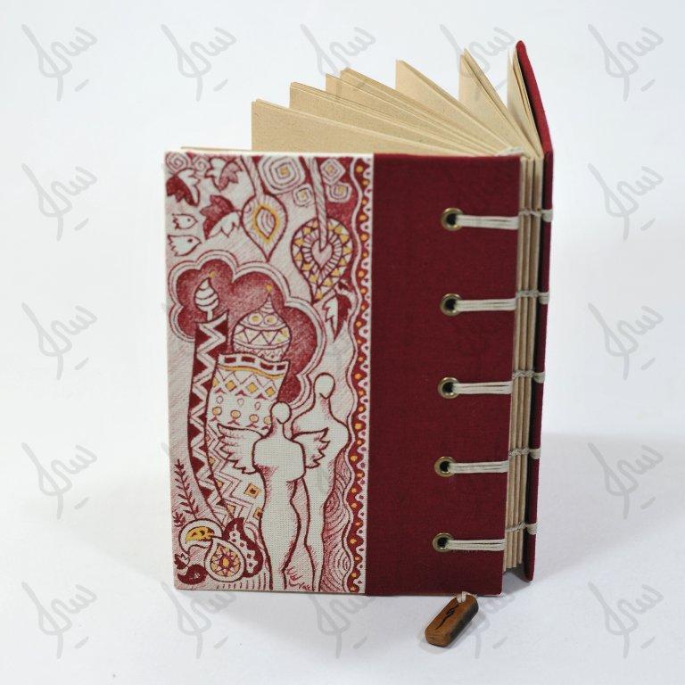 دفتر جلد نقاشی دست ساز