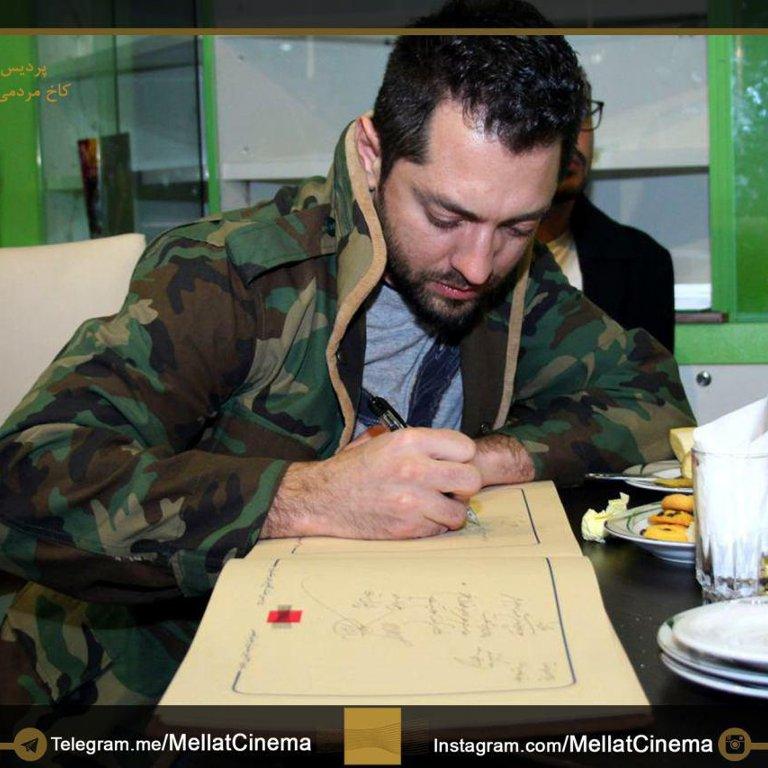 دفتر یادبود جشنواره فیلم فجر - بهرام رادان