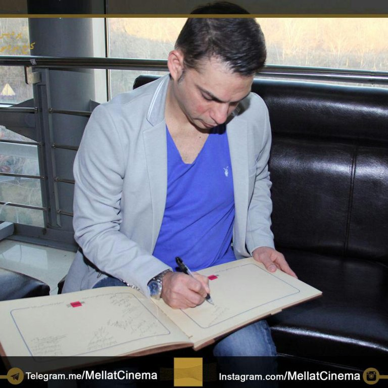 دفتر یادبود جشنواره فیلم فجر - پیمان معادی